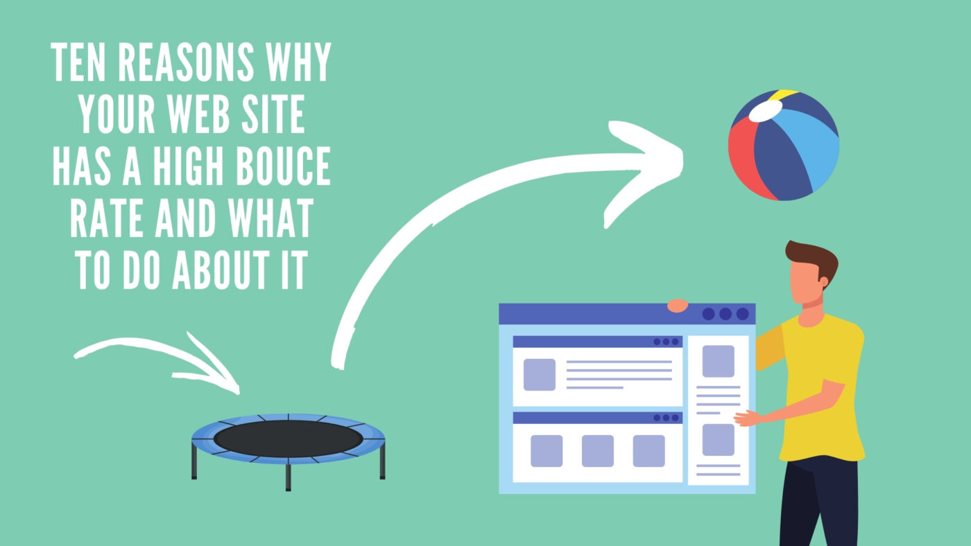 10 Reasons Why Your Site Has a HIgh Bounce Rate and What to Do About it | Blinkstream, LLC